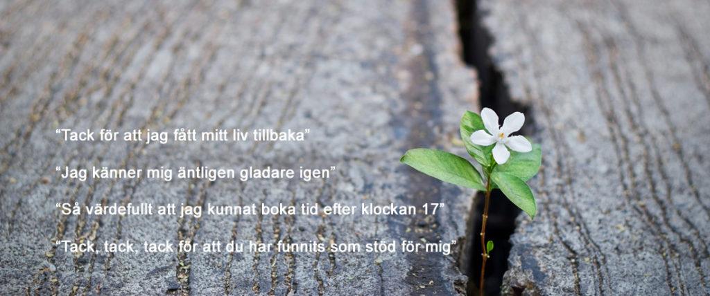 Samtalsterapi i Kalmar med KBT-inriktning